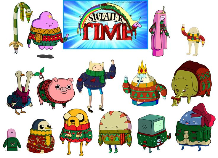 Adventure Time Character Design Contest : Cartoon network adventure time christmas jumper
