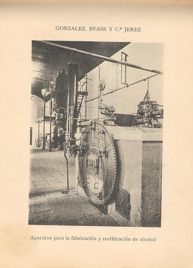 Aparatos para la fabricación y rectificación de alcohol. / Apparatus for the production and addition of alcohol.