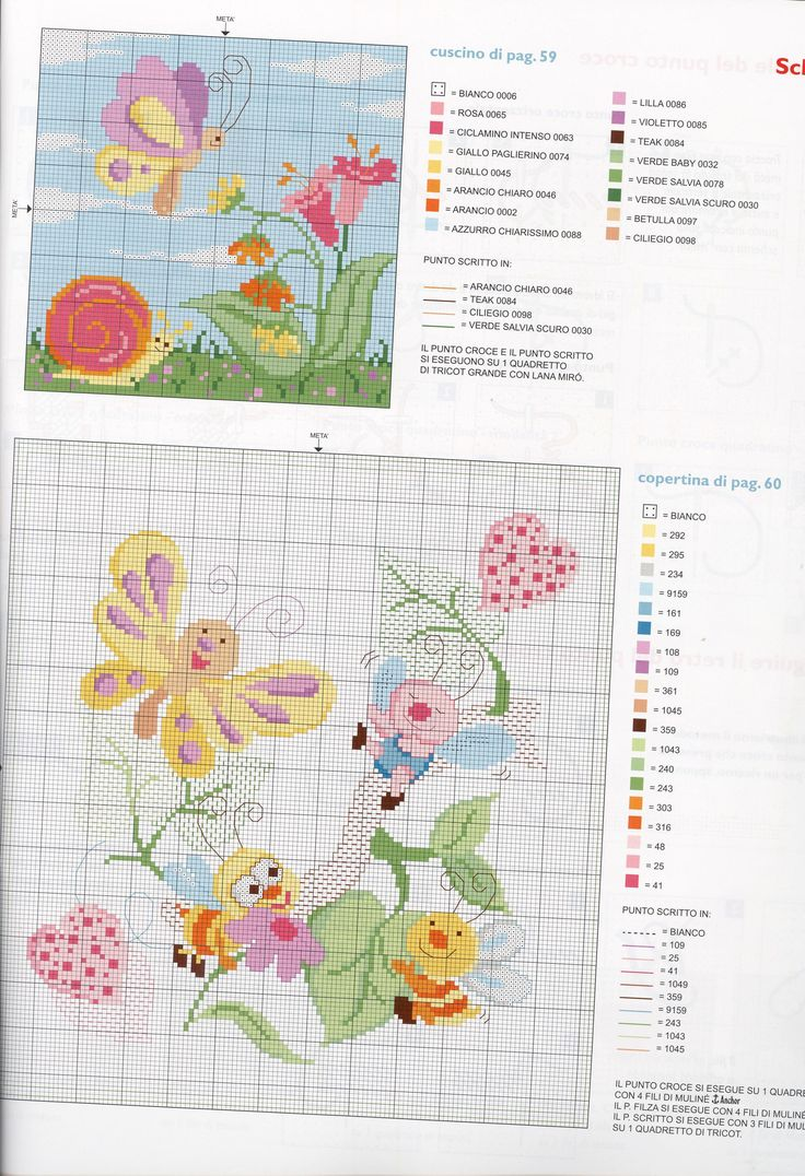 1000 images about lenzuola culla on pinterest patrones for Schemi bordure uncinetto per lenzuola