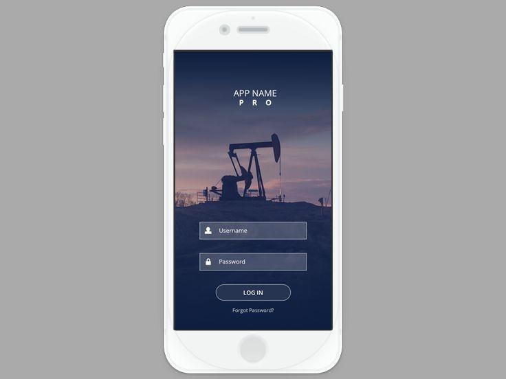 App Login Screen by Chris Figat