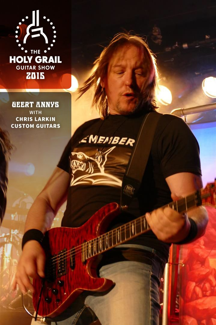Demo Concerts 2015: GEERT ANNYS with CHRIS LARKIN CUSTOM GUITARS  https://www.facebook.com/profile.php?id=100005193077675 http://holygrailguitarshow.com/chris-larkin-guitars-geert-…/ For more info, please go to: http://holygrailguitarshow.com/program/