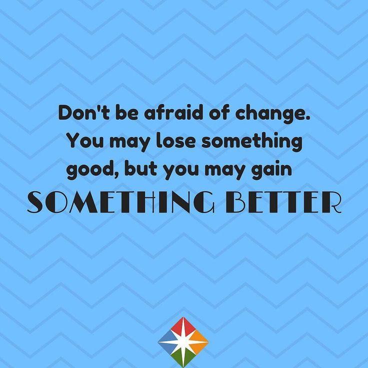 Change can be good! #thursday #thursdaymorning