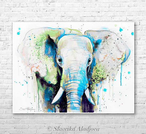 les 25 meilleures id es de la cat gorie aquarelle d 39 l phant sur pinterest tatouages l phants. Black Bedroom Furniture Sets. Home Design Ideas