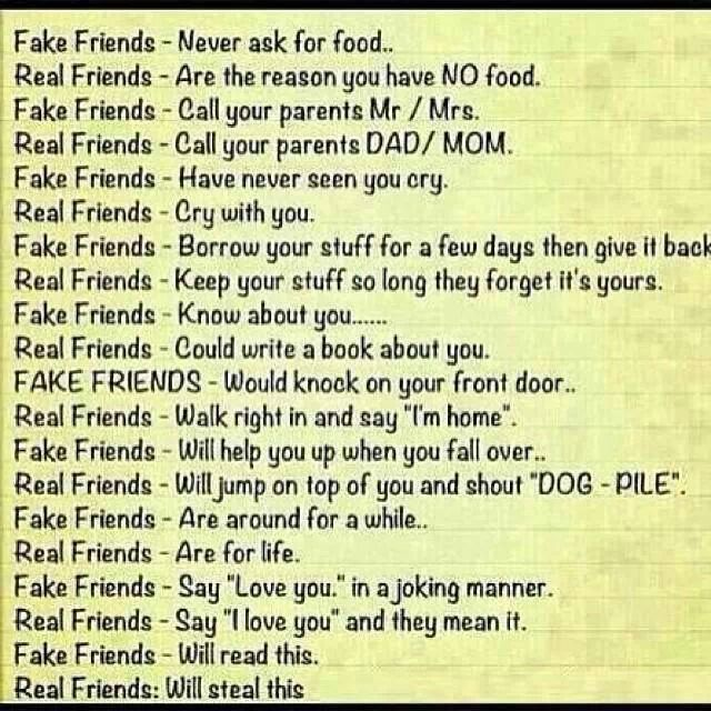 Quotes About True Friendship And Fake Friends Inspiration Fake Friends Vs Real Friends  Quotes  Pinterest  Fake Friends