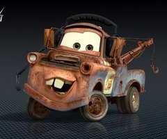 Cars 2 Characters Mater Voice Of Larry The Cable Guy