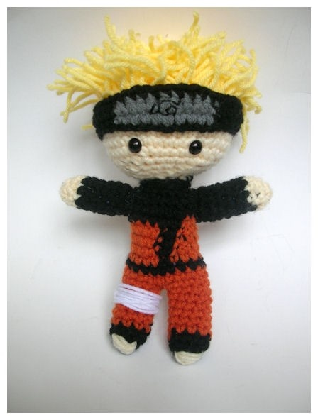 Naruto Shippuden Amigurumi Doll crochet movie character ...