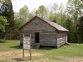 Shiloh National Military Park church that was established during the Civil War