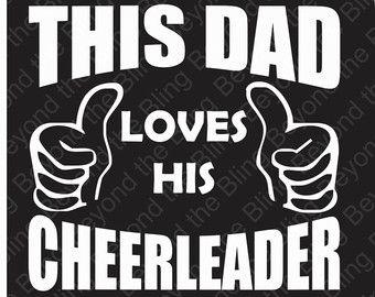 Cheer Dad Shirt Cheer Dad T-Shirt Cheer Dad Stunt by TShirtNerds