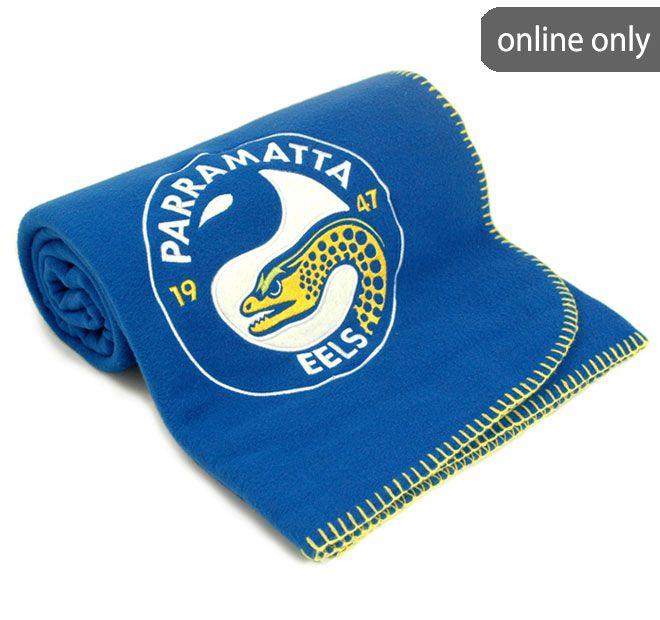 NRL Team Logo Quilt Cover Set and Accessories Range Parramatta Eels