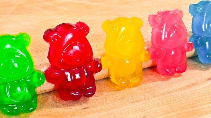 How To Make Gummy Bears - Regular AND SOUR - Video Recipe and DIY Tutorial