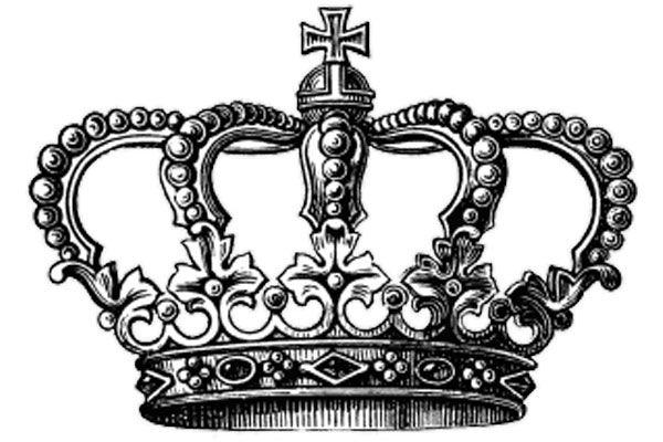 Короны для тату эскизы 232