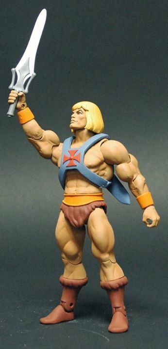 2016 Filmation He Man masters of the universe