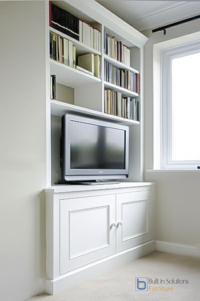 Buil tin Alcove units with TV Space-1.jpg 400×600 pixels