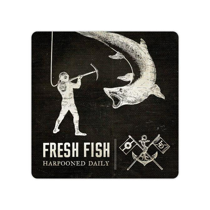 The Lower Depths - CommonerIncArthur Stewart, Fresh Fish, Depth Portfoliocommon, Brand Design, Richard Arthur, Design Typography, Lower Depth, Depth Restaurants, Depth Portfolio Common