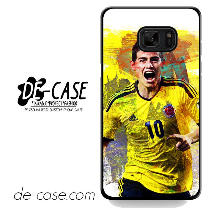 James Rodriguez Football Player DEAL-5789 Samsung Phonecase Cover For Samsung Galaxy Note 7