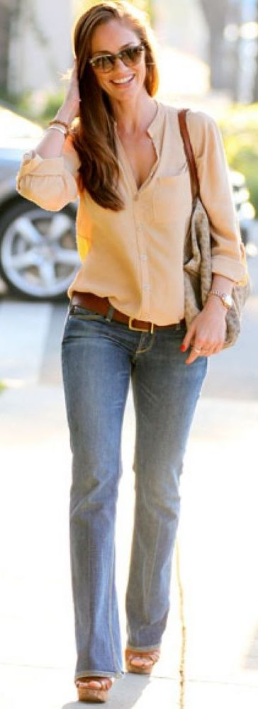 77 best images about How to Wear: Bootcut or Flare Jeans on ...