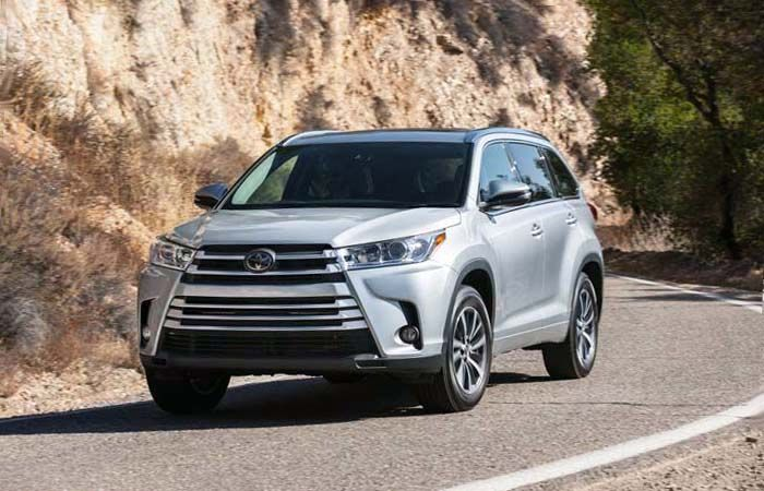 2019 Toyota Highlander overview