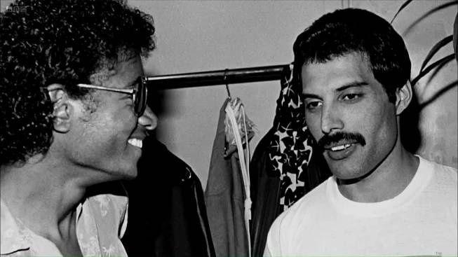 Freddie Mercury & Michael Jackson
