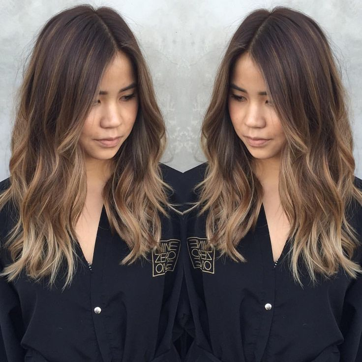 Image result for balayage straight brown hair