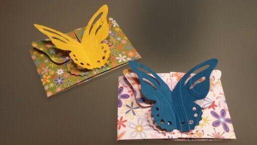 Kleine Schmetterlingskarten