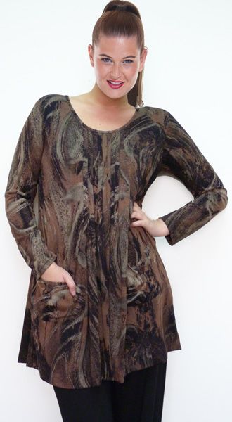 Top Poppy Long Sleeve Colour:  Bronze. Available Sizes: S, M, L, XL, XXL, XXXL Original Price : AUD $ 109.00 Today's Price : AUD $ 79.00