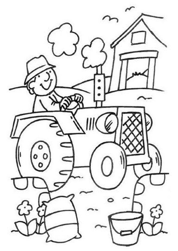 Bauernhof Kostenlose Ausmalbilder Zeichnung Kostenlose Ausmalbilder Ausmalbilder Thema Bauernhof