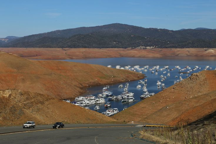 Drought Photos: See Lake Oroville Fall Near Historic Low Over 20 Months