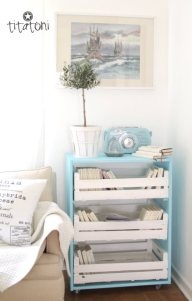 Another GREAT idea!! Fruit Crate Trolley