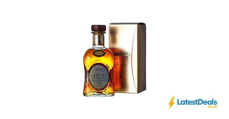 Cardhu Gold Reserve Single Malt Scotch Whisky, 70 Cl Free Delivery, £24.85 at Amazon UK
