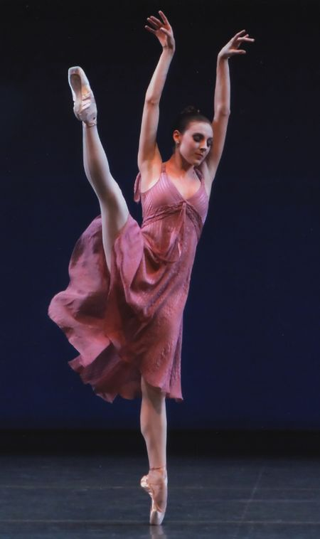 """NYCB's Tiler Peck in Jerome Robbins' """"Other Dances."""" Photo by Paul Kolnik."""