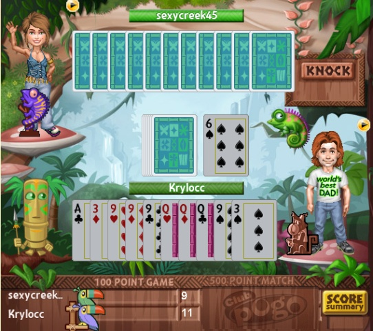 Jungle Gin on POGO Free online games, Pogo, Online games