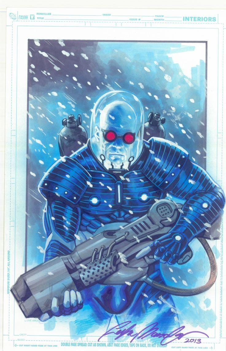 Mr. Freeze by Felipe Massafera