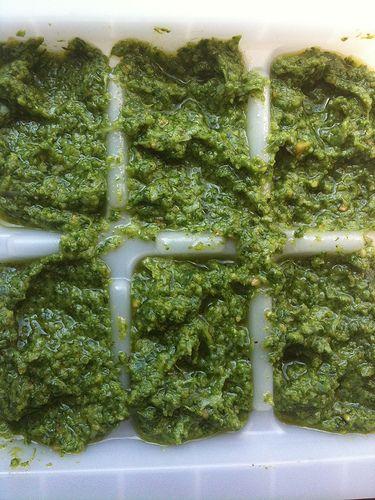 freezing pesto | Nom-nivore | Pinterest | Freezing Pesto, Pesto and ...