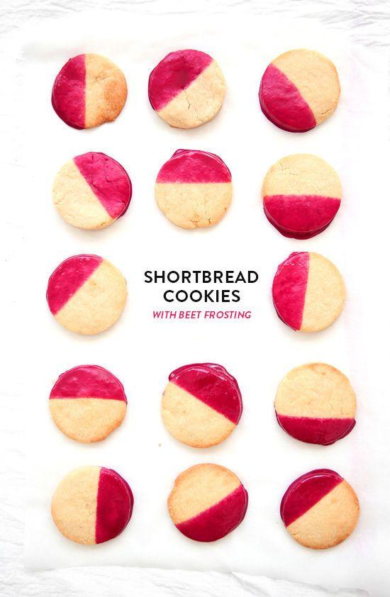 beet cookies   designlovefest