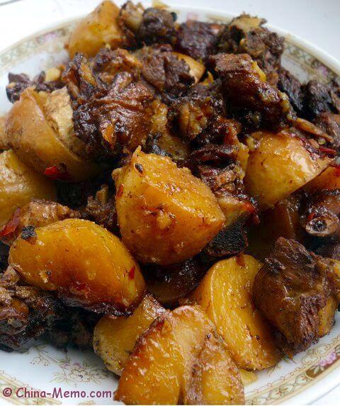 Chinese Duck Potato. www.china-memo.com #recipe #chinesefood #homecooking