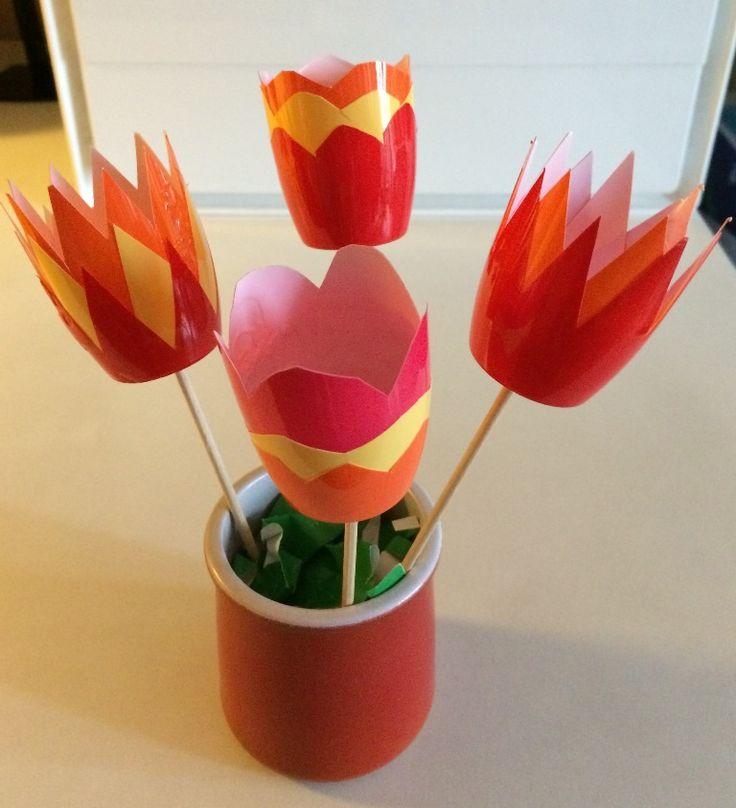 Fleurs (petits-suisses aux fruits)