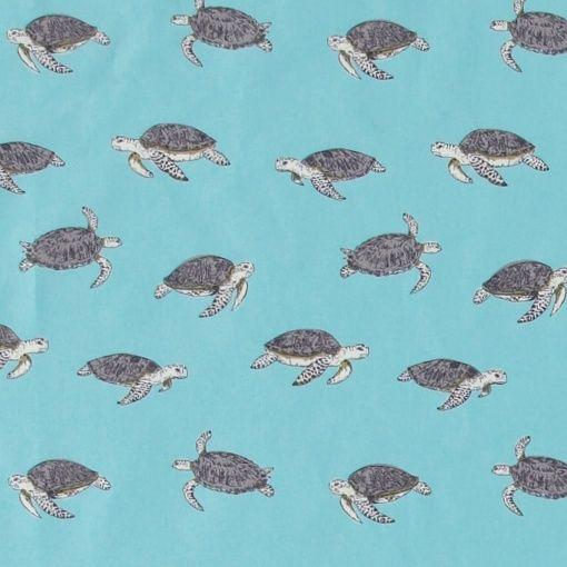Bomuld turkis m havskildpadder
