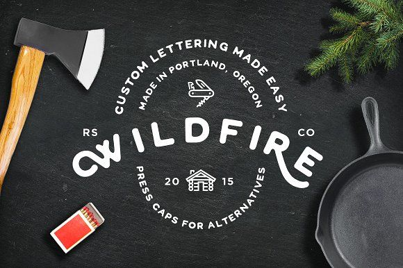 WildFire Font by RetroSupply Co. on @creativemarket