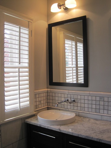305 best plantation shutters in style images on pinterest - Plantation shutters for bathroom ...