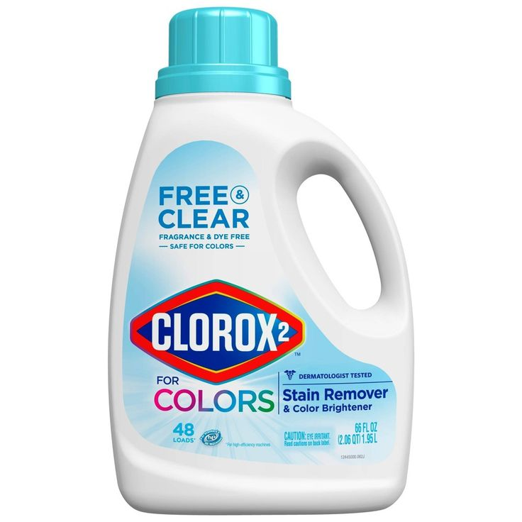Clorox 2 Free Clear Laundry Stain Remover Color Booster