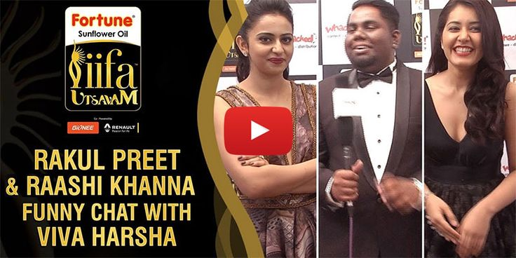 Watch: Rakul Preet and Raashi Khanna Funny Chat with Viva Harsha