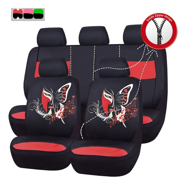 Number 1 11PCS Insparation Universal Car Seat Covers Set Airbag Compaitable