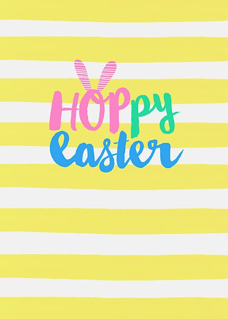 Margaret Berg Art: Hoppy Easter Lettering