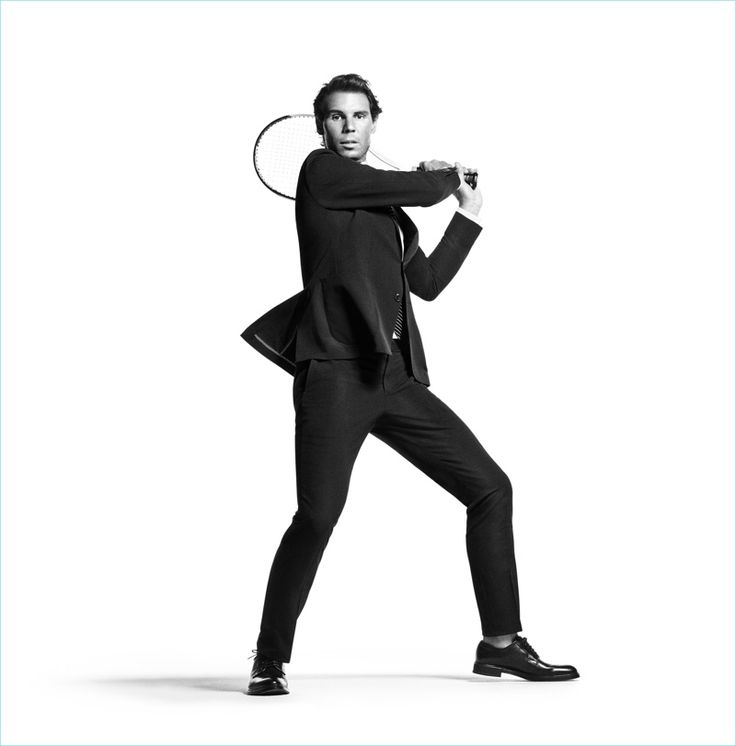 Mikael Jansson photographs Rafael Nadal for Tommy Hilfiger Tailored's spring-summer 2017 campaign.