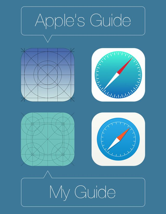 Safari icon for iOS 7 / Jacminik