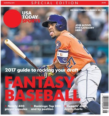 Houston Astros second baseman Jose Altuve hit .338 with 24 home runs and 30 steals last season. He's No. 3 in our Top 200 fantasy rankings.(Photo: USA TODAY Sports)     As fantasy baseball owners begin preparation for their 2017 drafts, it's helpful to have a baseline of...  http://usa.swengen.com/overall-top-200-for-2017/