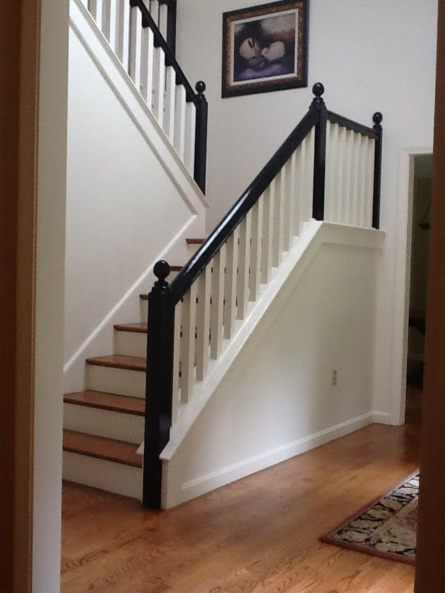 black+handrail+on+stairway+New+England+Fine+Living.jpg 640×854 pixels