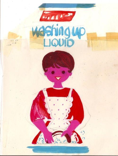 Daphne Padden Marks and Spencers Washing Up Liquid design