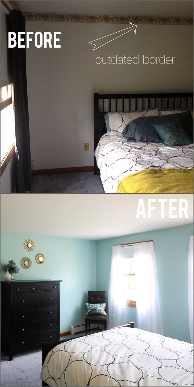 42 best images about before after home renovations on for Spare bedroom paint color ideas