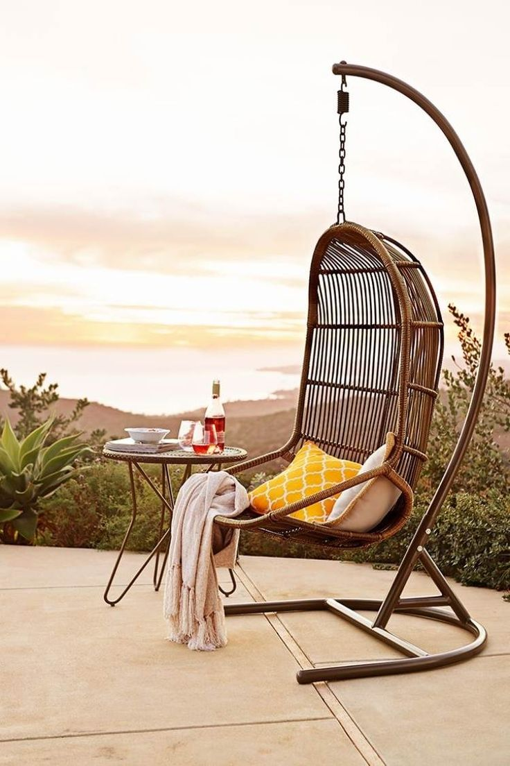 les 25 meilleures id es concernant fauteuil oeuf suspendu sur pinterest chaise d 39 oeuf. Black Bedroom Furniture Sets. Home Design Ideas